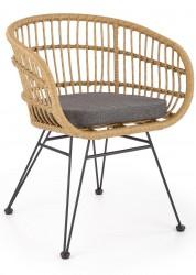 Krzesło K-456 rattanowe