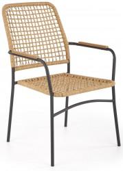Krzesło K-457 rattanowe