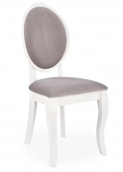 Krzesło drewniane Velo White popielate