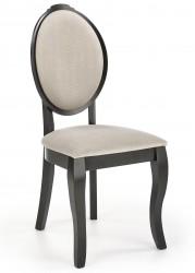 Krzesło drewniane Velo Black beżowe