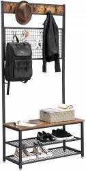 Garderoba na ubrania i półka LOFT duża