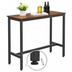 Wysoki stolik kuchenny barowy LOFT metal