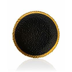 Talerz Kati Black Gold 20 cm