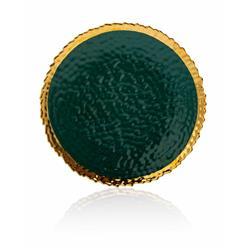 Talerz Kati Green Gold 20 cm