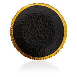 Talerz Kati Black Gold 25 cm