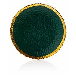 Talerz Kati Green Gold 25 cm