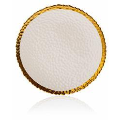 Talerz Kati White Gold 25 cm