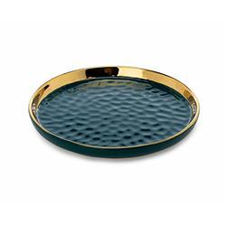 Okrągła taca dekoracyjna Lija Green 20cm