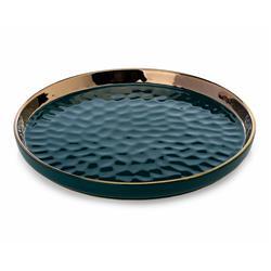 Okrągła taca dekoracyjna Lija Green 26cm