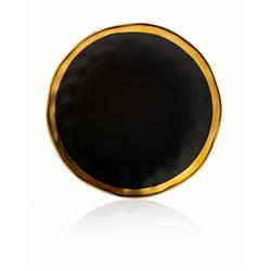 Talerz Lissa Black Gold 20 cm