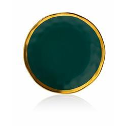 Talerz Lissa Green Gold 20 cm