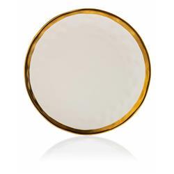 Talerz Lissa White Gold 27 cm