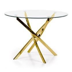 Stół okrągły Raymond Gold 100 cm