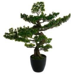 Drzewko bonsai w czarnej doniczce 80 cm