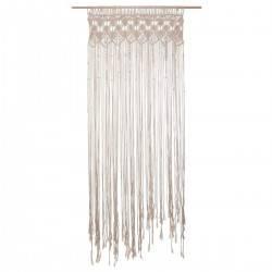 Zasłona bawełniana Makrama 90x200 cm