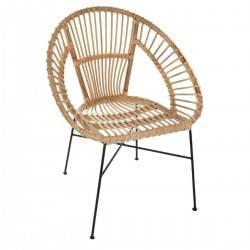 Krzesło rattanowe Keko