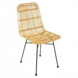 Krzesło rattanowe Kobu