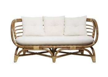 Rattanowa sofa 2 osobowa Farah