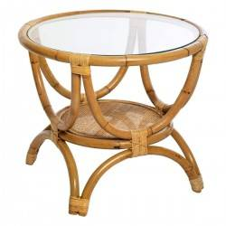 Rattanowy stolik Farah 59 cm