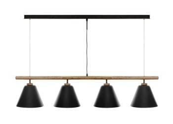 Lampa wisząca Judi Black 132 cm