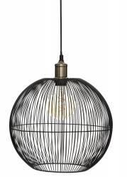 Lampa wisząca Noa Black 34 cm