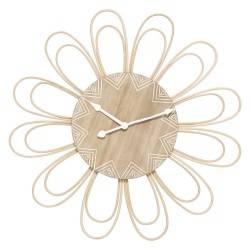 Zegar ścienny Rattan Flower 58 cm