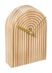 Zegar stołowy Bloom drewniany