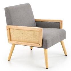 Fotel wypoczynkowy Corfu popielaty