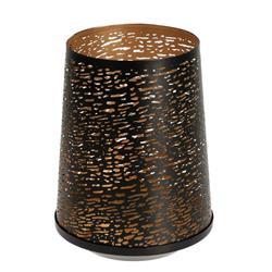 Metalowy ażurowy lampion 19 cm