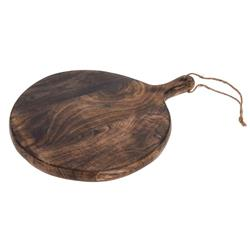 Deska okrągła drewno mango 40 cm