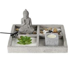 Ogród Zen z figurką Buddy do relaksacji