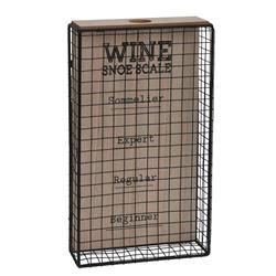 Loftowy pojemnik na korki od wina