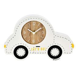 Zegar stojący samochód biały
