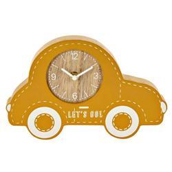 Zegar stojący samochód żółty