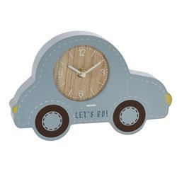 Zegar stojący samochód niebieski