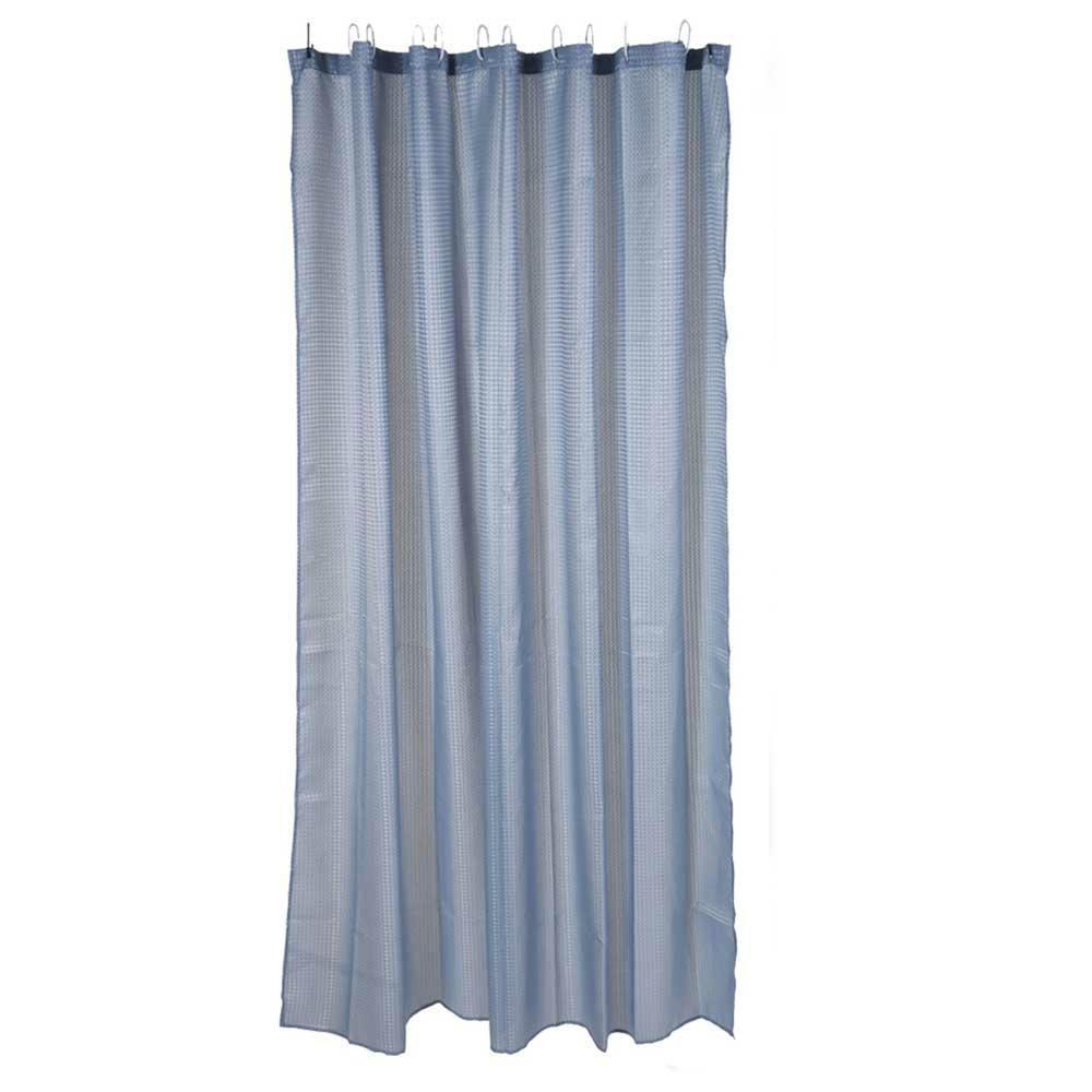 Zasłona prysznicowa niebieska 180 cm