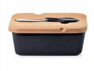 Maselniczka z nożem Basick Black