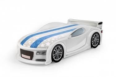 Łóżko dziecięce UNO A4 Sport White
