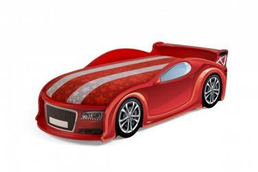 Łóżko dziecięce UNO A4 Sport Red