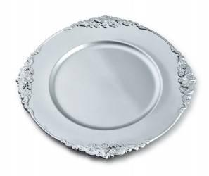 Podtalerz Blanche Flourish Silver 33 cm