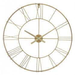 Zegar ścienny Cason Gold 70 cm