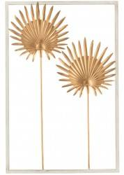 Ozdoba ścienna Aster Gold 30x45 cm