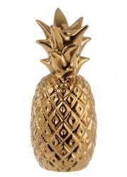 Świecznik Pineapple Gold 20 cm