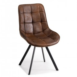 Krzesło Kenye Black Brown
