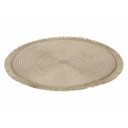 Podkładka na stół okrągła złota 35 cm