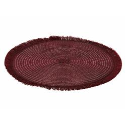 Podkładka na stół okrągła burgund 35 cm