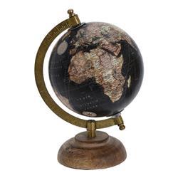 Dekoracyjny globus Retro 5 cali wzór 1