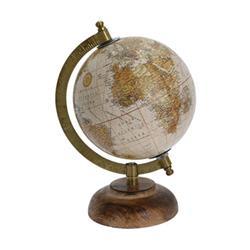 Dekoracyjny globus Retro 5 cali wzór 2
