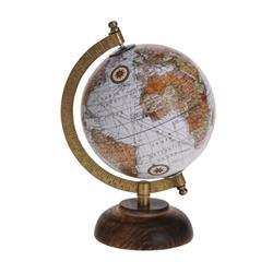 Dekoracyjny globus Retro 5 cali wzór 3
