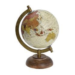 Dekoracyjny globus Retro 5 cali wzór 4